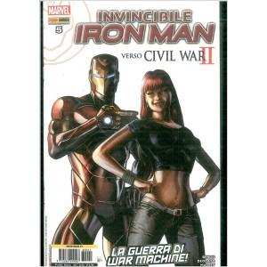 IRON MAN 41 - INVINCIBILE IRON MAN 5 - Marvel Italia