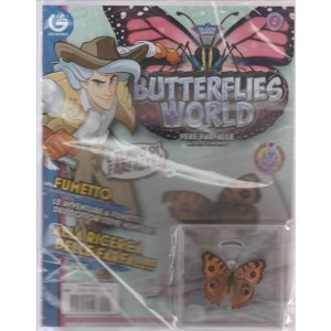 BUTTERFLIES WORLD. VERE FARFALLE DA TUTTO IL MONDO. JUNONIA ALMANA. N. 5