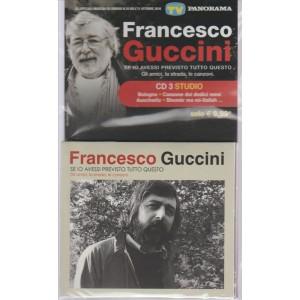 GLI SPECIALI MUSICALI DI SORRISI N. 18 DELL' 11 OTTOBRE 2016. FRANCESCO GUCCINI. CD 3 STUDIO.
