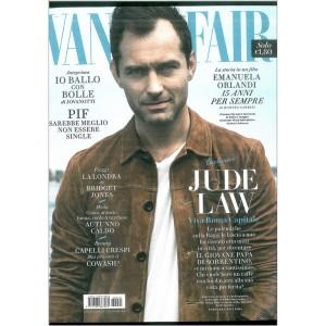 Vanity Fair Settimanale N. 40 - 12 Ottobre 2016 -JUDE LAW