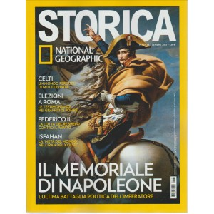 STORICA. NATIONAL GEOGRAPHIC. N. 91. SETTEMBRE 2016.