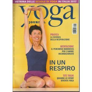 YOGA JOURNAL. N. 107. MENSILE OTTOBRE 2016