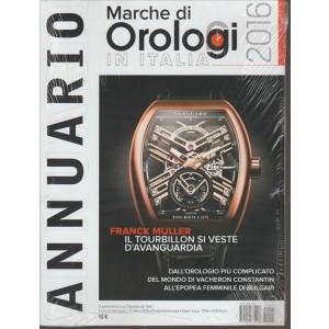 ANNUARIO MARCHE DI OROLOGI IN ITALIA 2016.