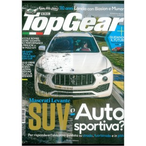 Top Gear mensile n. 108 Novembre 2016
