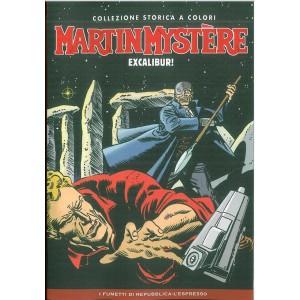 Martin Mystere Collezione storica a colori vol. 6 EXCALIBUR !