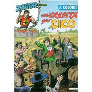 Zagor Presenta Un'eredità per Cico - Ristampa cronologica a Colori vol.21