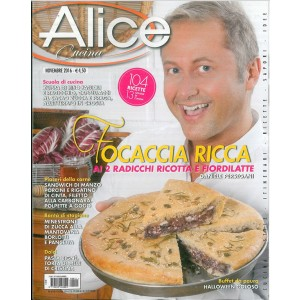 Alice Cucina - Mensile n. 11 Novembre 2016