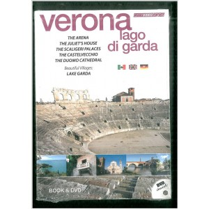 City video book VERONA e lago di Gardacon DVD e libro