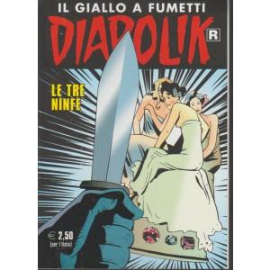 """Diabolik il giallo a fumetti Ristampan. 664 """"le tre ninfe"""""""