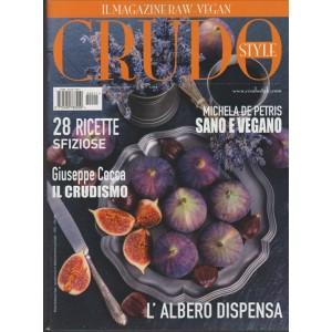 CRUDO STYLE il Magazine RAW e Vegan - trimestrale n. 211/Ottobre 2016