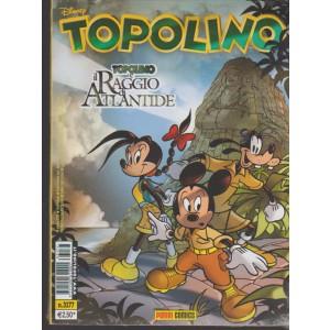Topolino Disney - settimanale n. 3177 - 18 ottobre 2016
