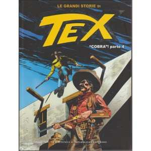 LE GRANDI STORIE DI TEX. COBRA! PARTE 4.  N. 35.