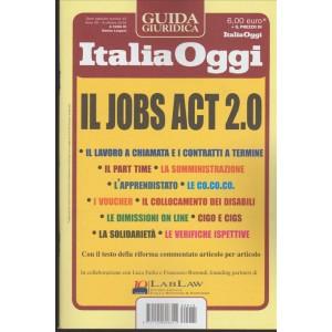 Il Jobs Act 2.0 - Guidagiuridica  Italia Oggi - 8 Ottobre 2016