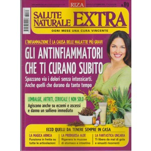 Salute Naturale Extra by RIZA - mensile n. 89 Ottobre 2016