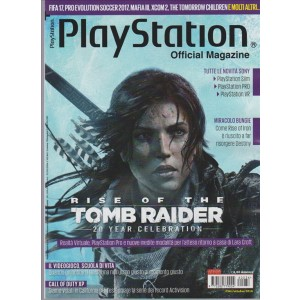 Playstation Official Magazine - mensile n. 36 Ottobre 2016