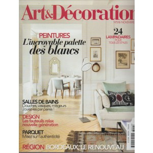 ART&DECORATION. N. 518 NOVEMBRE 2016.
