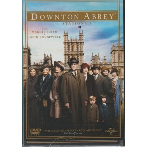 DOWNTON ABBEY. STAGIONE 5. COFANETTO 5 DVD. CON MAGGIE SMITH E HUGH BONNEVILLE