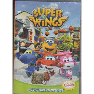 SUPER WINGS. AVVENTURE IN ORIENTE. VOL. 2. INCLUDE 13 EPISODI.