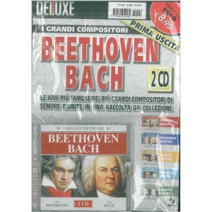 Doppio CD I Grandi compositori - Beethoven/Bach