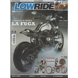 LOW RIDE - Mensile n. 101 Novembre 2016