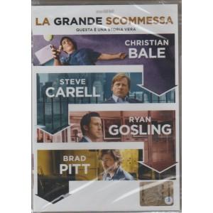 DVD La grande scommessa - un film di Adam McKay  con Brad Pitt e Christian Bale