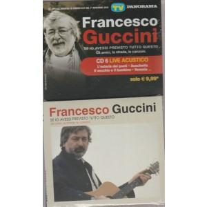 """CD Francesco Guccini """"Se io avessi previsto tutto questo"""" (gli amici, la strada, le canzoni)"""