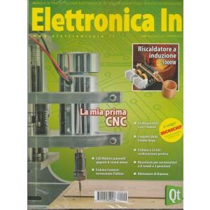 """Elettronica In - mensile n. 210 Novembre 2016 """"La mia prima CNC"""""""