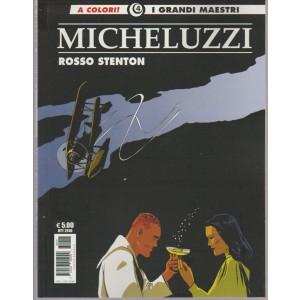 Cosmo Albi - I grandi maestri a colori vol. 4 - MICHELUZZI 2 Rosso Stenton