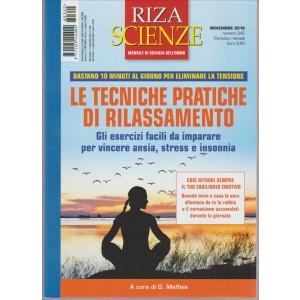 Riza Scienze - mensiledi scienza dell'uomo n. 342 Novembre 2016