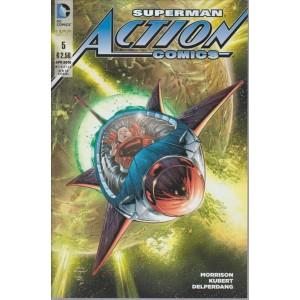 SUPERMAN ACTION COMICS. N. 5. APRILE 2016. MENSILE