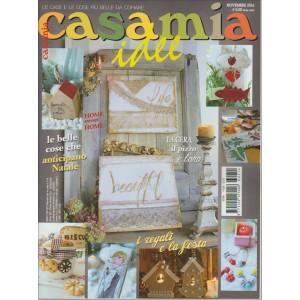 CASAMIA IDEE.  N. 214. MENSILE PER LA CASA. NOVEMBRE 2016.
