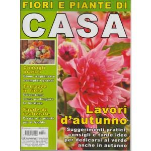 FIORI E PIANTE DI CASA.  N. 1. BIMESTRALE. SETTEMBRE/OTTOBRE 2016.