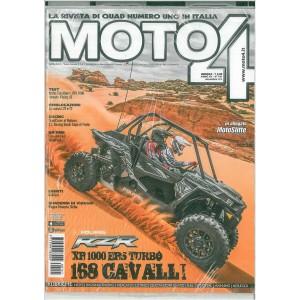 Moto 4 - mensile n. 141 Novembre 2016 - Motoslitte in allegato