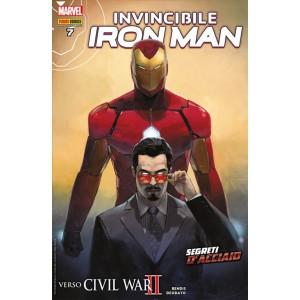 IRON MAN 43 - INVINCIBILE IRON MAN 7 -Marvel Italia