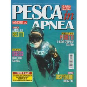 PESCA IN APNEA. N. 140. AGOSTO/SETTEMBRE 2016.