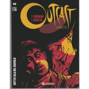 "OUTCAST vol. 10 ""sotto l'ala del diavolo""  by Saldapress"