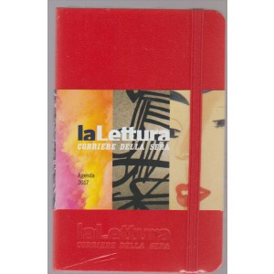 Esplora il significato del termine: L'Agendina de «la Lettura» colore rosso