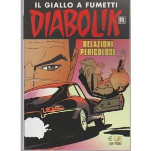"""Diabolik (il giallo a fumetti) Ristampa vol. 665 """"Relazioni pericolose"""""""