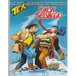 """Tex Nuova Ristampa - mensile n. 412 Novembre 2016 """"Yucon Selvaggio"""""""
