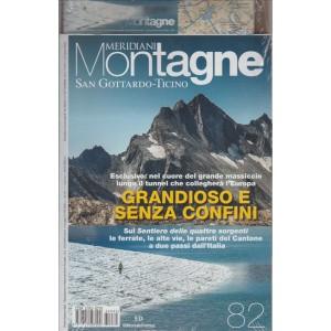 MERIDIANI MONTAGNE. SAN GOTTARDO-TICINO. N. 82 BIMESTRALE. SETTEMBRE 2016.