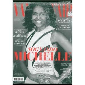 "Vanity Fair  - settimanale n. 46 - 23 Novembre 2016 ""Sognando MICHELLE"