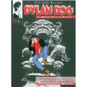 """Dylan Dog """"Il Nero della Paura"""" n. 18 Tiziano Sclavi - Voodoo e un altro racconto"""