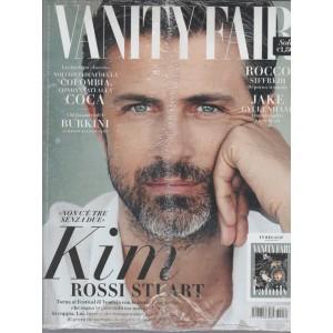 "VANITY FAIR  settimanale n. 34 - 31 Agosto 2016 ""KIM Rossi Stuart"""