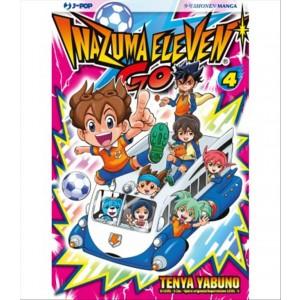 Manga: Inazuma Eleven Go 004 - collana SHI Poket manga # 26 - J-POP editore