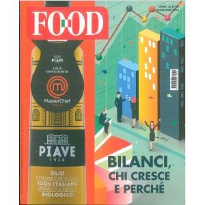 FOOD - mensile n. 12 Dicembre 2016 - Bilanci chi cresce e perchè