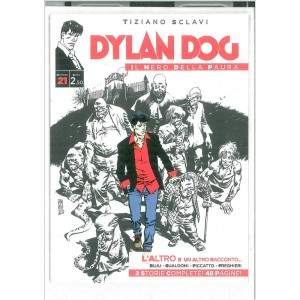 """Dylan Dog """"Il Nero della pauroa n. 21 di Tiziano Sclavi"""