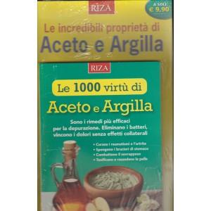 LE 1000 VIRTU' DI ACETO E ARGILLA.  SALUTE NATURALE EXTRA N. 91 DICEMBRE 2016.