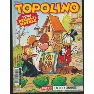 Topolino - settimanale n. 3185 - 13 Dicembre 2016