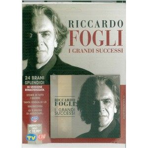 "CD audio - Riccardo Fogli ""I grandi successi"" - by Sorrisi e Canzoni TV"