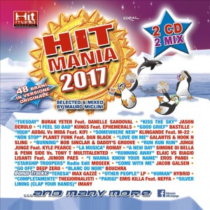 CD audio Hit Mania 2017- Select & Mixed by Mauro Miclini